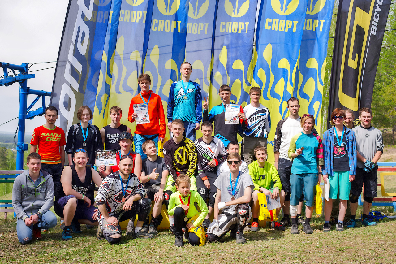 Наши гонки: Фотоотчёт об открытии летнего сезона 2016 года по ДХ в Ангарске.